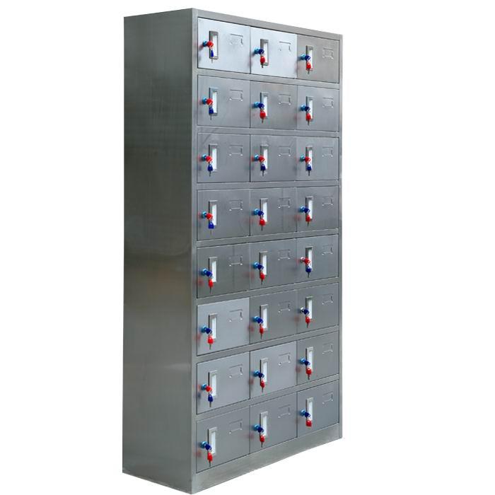 24门不锈钢衣柜