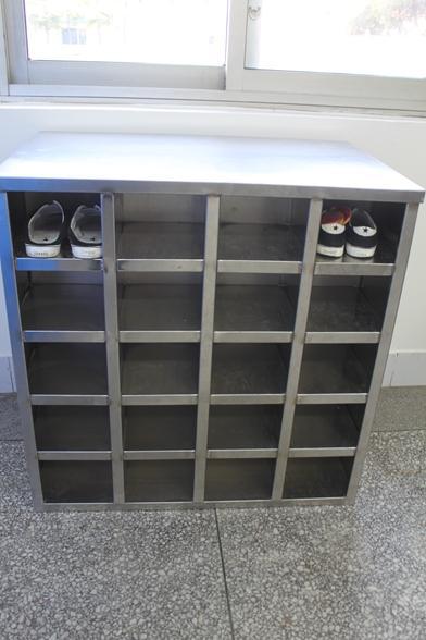 青岛不锈钢鞋柜订做  不锈钢更鞋柜