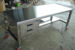 罗定不锈钢工作台价格工作台定制 不锈钢工作台厂家直销