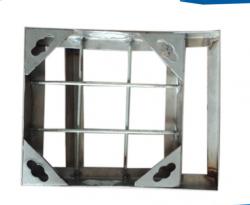 青岛不锈钢隐形井盖窨井盖地沟篦子排水沟盖板定制304不锈钢井盖