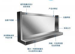 郑州304不锈钢小便槽小便池学校幼儿园不锈钢小便斗尿槽订做