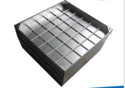 辛集供应不锈钢井盖隐形窨井盖地沟篦子排水沟盖板定制304不锈钢井盖