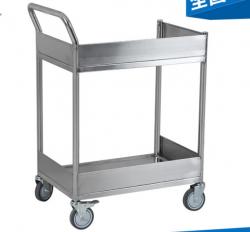 手推拆式不锈钢护士医疗车 多层不锈钢平板手推车加工定制