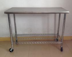 湛江厂家加工定制 不锈钢工作台电子厂无尘室操作台 检验桌